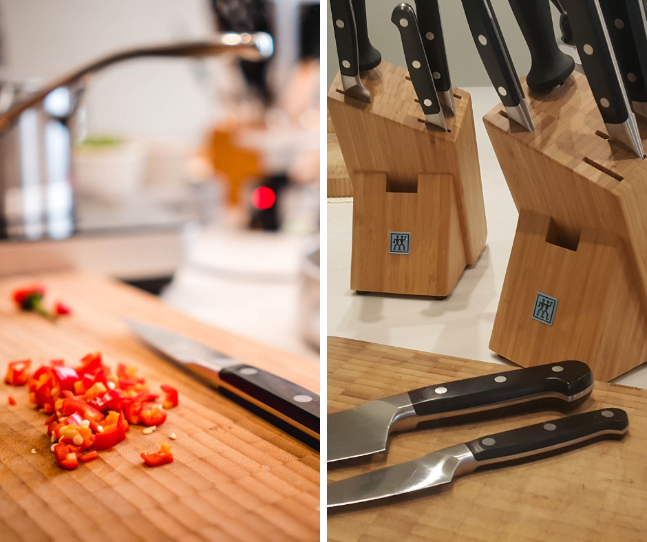 Basic Knife Skills: Knife Skills Course With Professional Chef Paul Bough